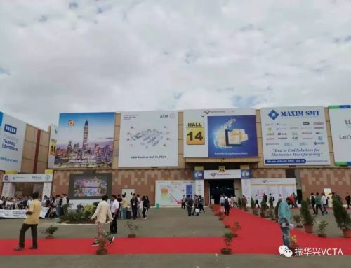 ZhenHuaXing attended electronica & productronica India, 2019